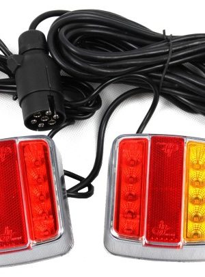 Фонари на магнитах для буксировки LED